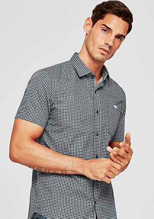 Slim: geruit overhemd