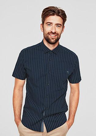 Regular: striped short sleeve shirt from s.Oliver