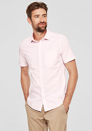 Slim: Hemd aus Baumwolle