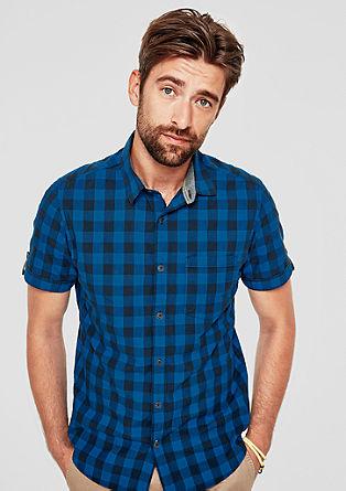 Regular: overhemd met ruiten
