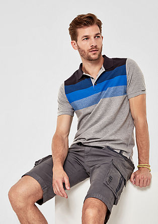 Polo shirt with stripes from s.Oliver
