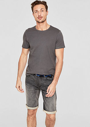 Tubx Regular: soft denim Bermudas from s.Oliver