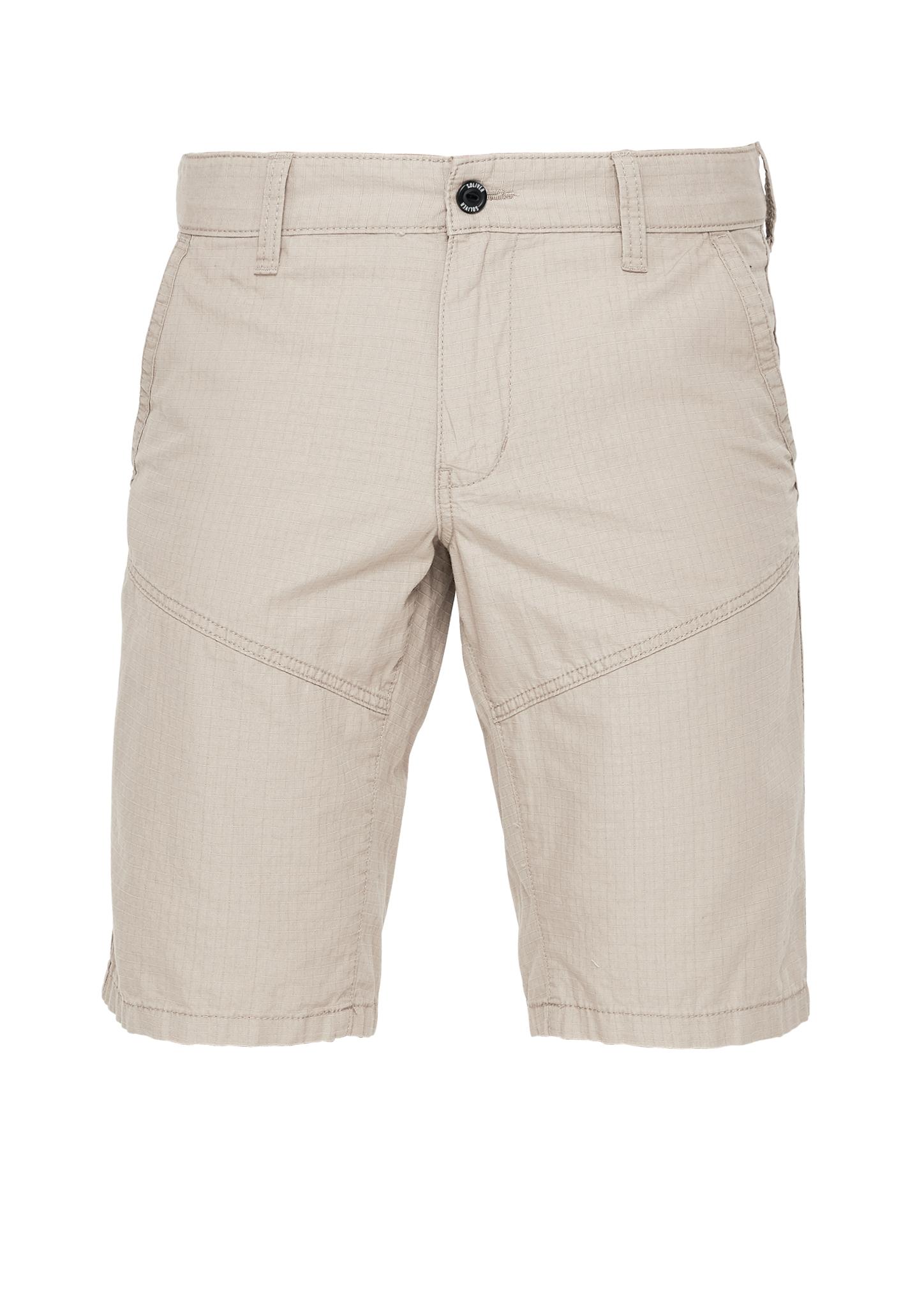 Bermudas | Bekleidung > Shorts & Bermudas > Bermudas | Beige | Obermaterial 100% baumwolle| futter 100% baumwolle | s.Oliver