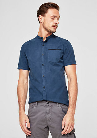 Slim: Shirt with a minimalist print from s.Oliver