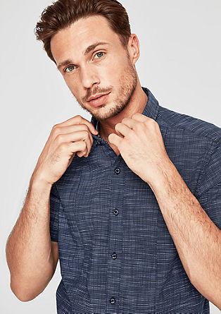 Regular: overhemd met strepen