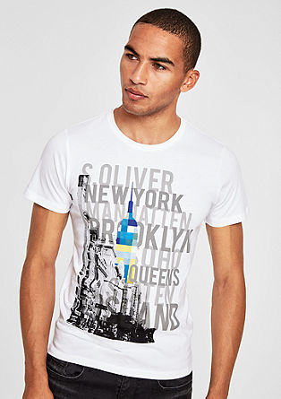 Jerseyshirt mit City-Print