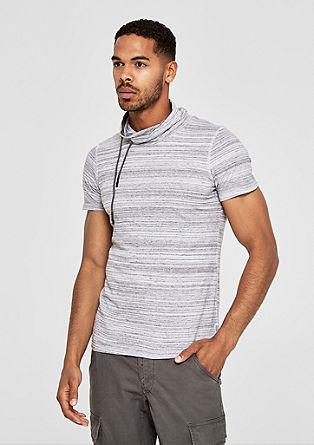 Majica iz džersija s širšim puli ovratnikom