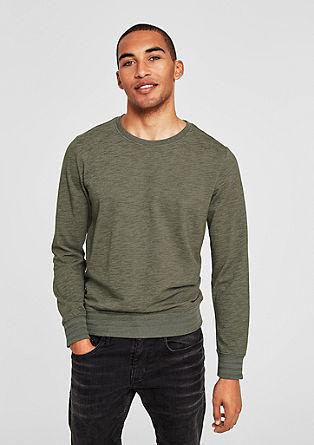 Meliertes Sweatshirt