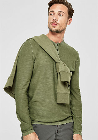 Lightweight garment-dyed jumper from s.Oliver