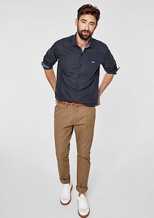 Regular: košile s jemným vzorem