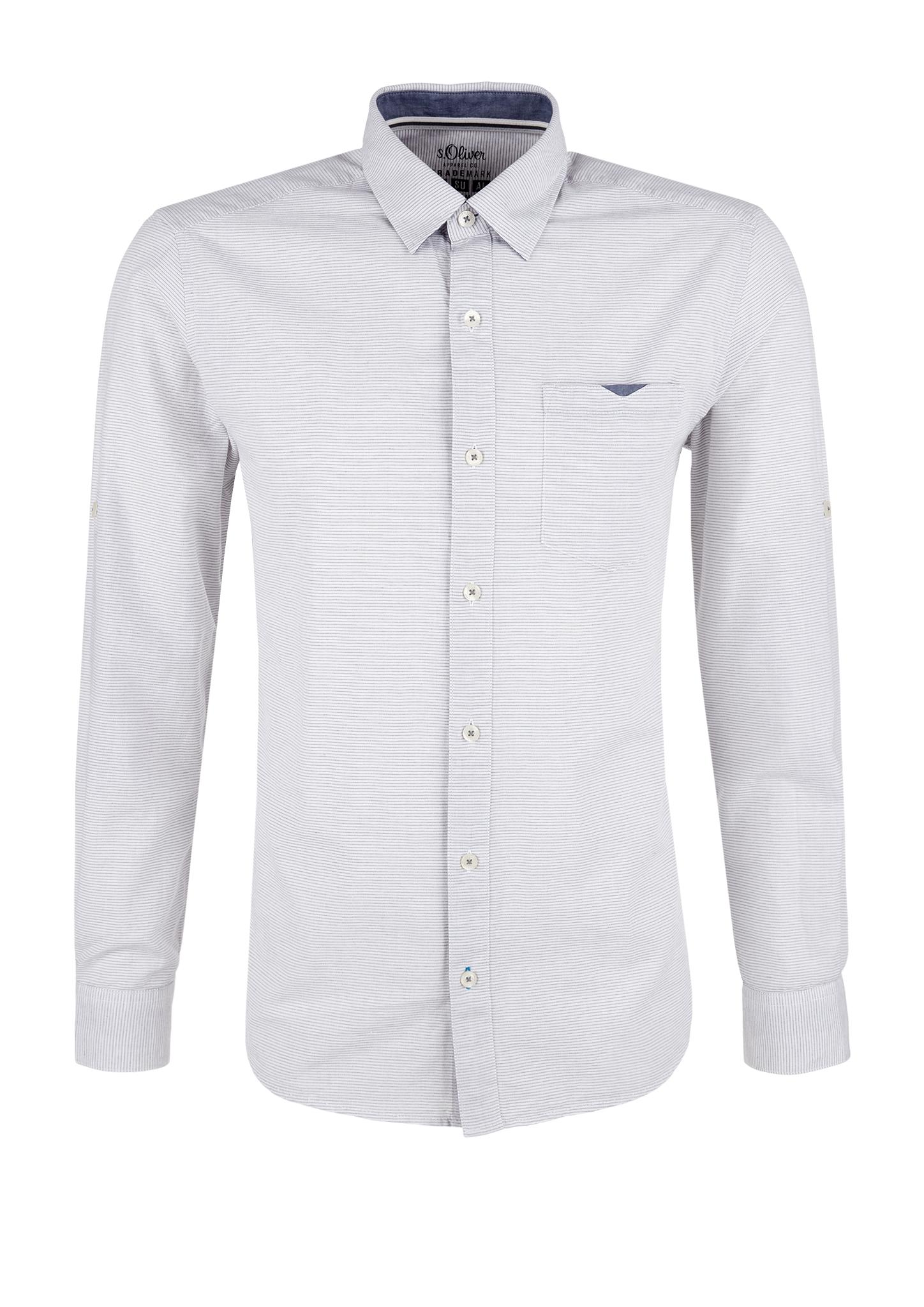 Hemd | Bekleidung | Weiß | 100% baumwolle | s.Oliver