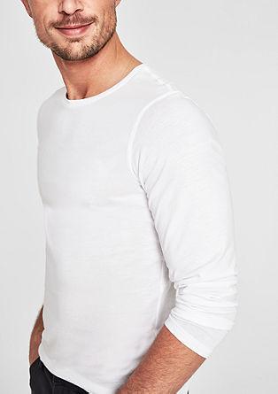 Basic tričko s dlouhým rukávem zžerzeje