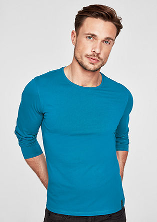 Basic long sleeve jersey top from s.Oliver