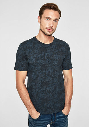 T-Shirt mit Allover-Print