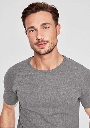 Slim: Sportives Basicshirt
