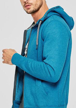 Tepláková bunda skapucí