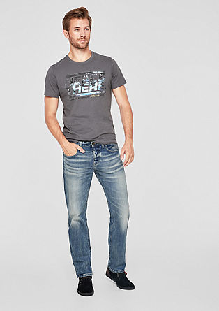 Scube Relaxed: jeans with a washed finish from s.Oliver