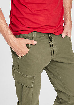 Tubx Regular: Cargo chinos from s.Oliver