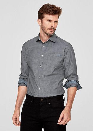 Slim: proužkovaná košile