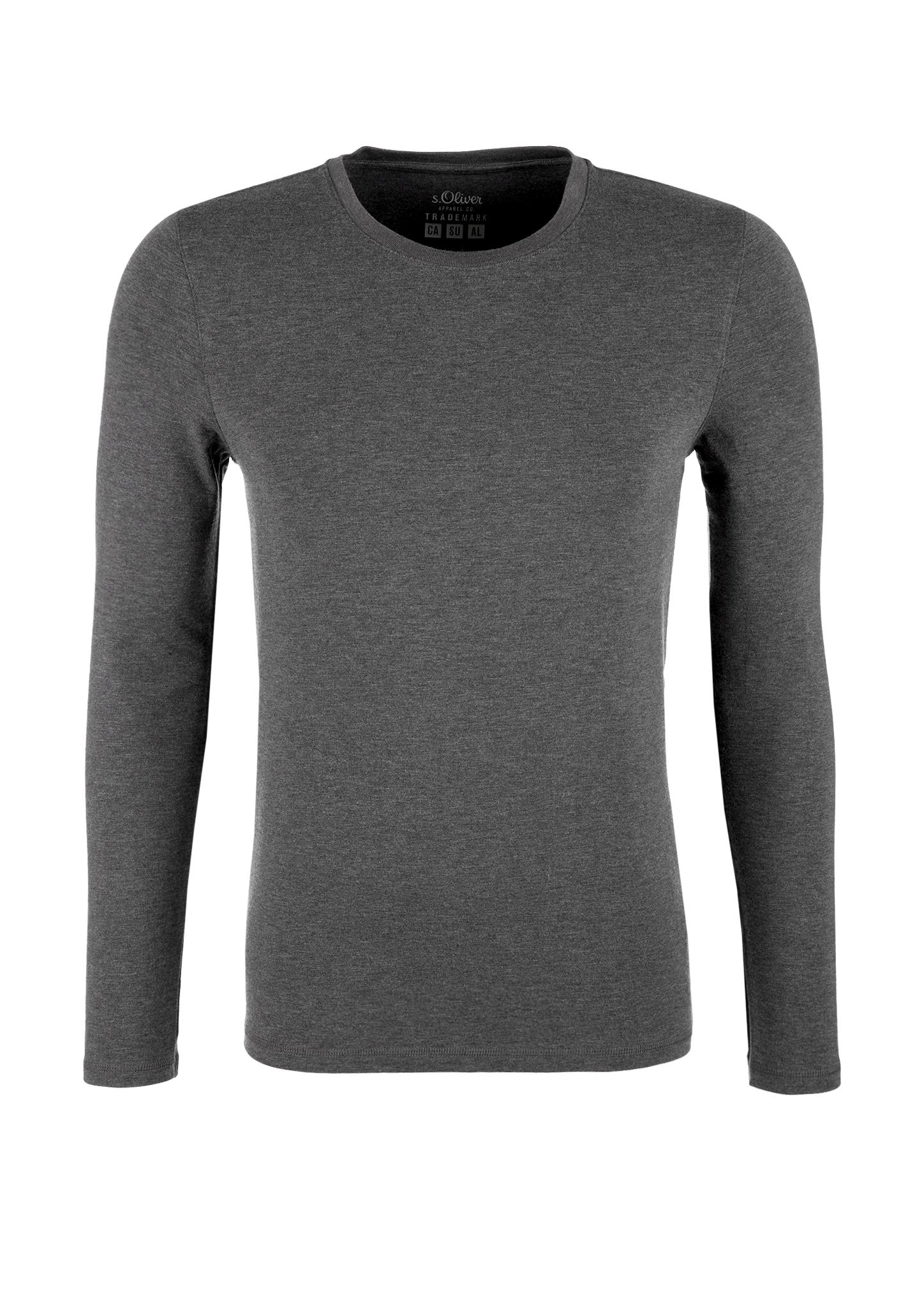 Warmtech-Langarmshirt | Bekleidung > Shirts > Langarm Shirts | Grau | 43% polyacryl -  33% baumwolle -  19% viskose -  5% polyurethan | s.Oliver