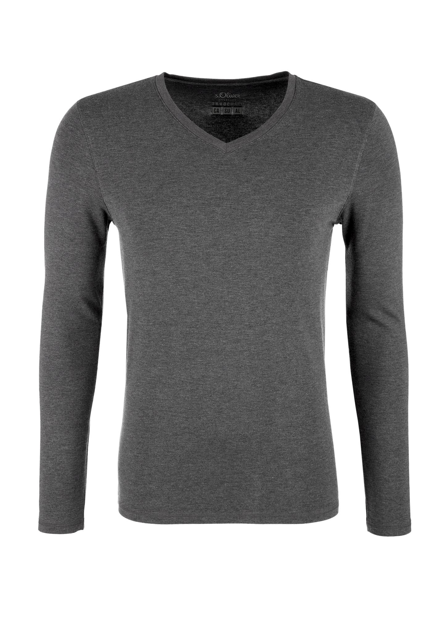 Warmtech-Langarmshirt   Bekleidung > Shirts > Langarm Shirts   Grau   43% polyacryl -  33% baumwolle -  19% viskose -  5% polyurethan   s.Oliver