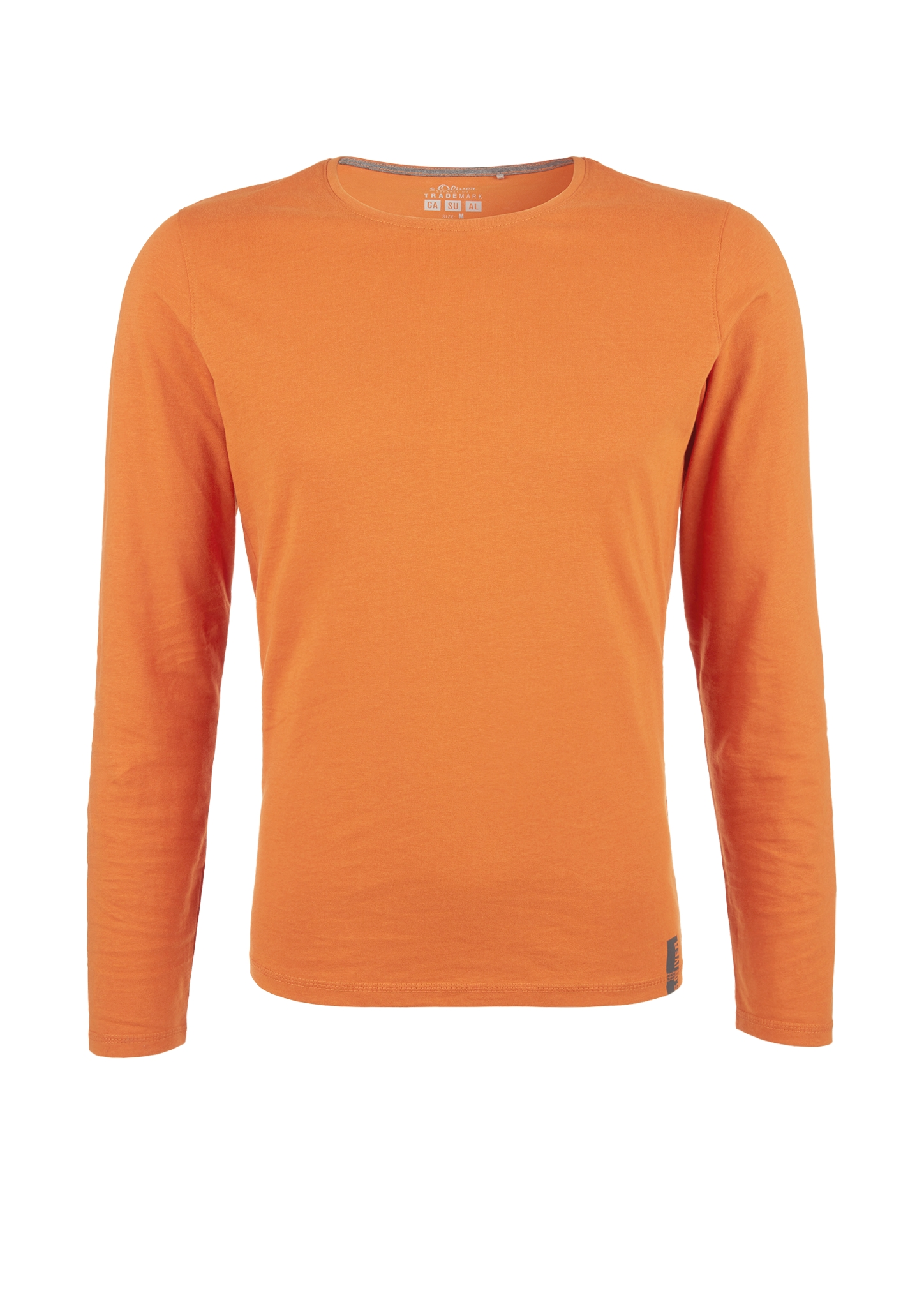 Langarmshirt | Bekleidung | Orange | 100% baumwolle | s.Oliver