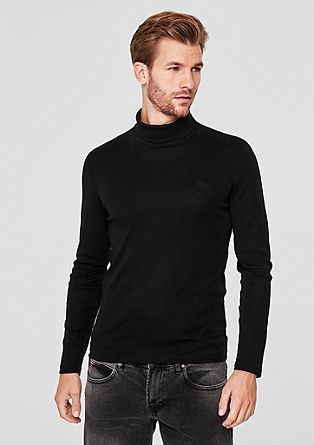 Long sleeve polo neck top from s.Oliver
