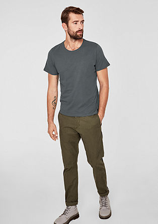 T-shirt basique à encolure ronde de s.Oliver