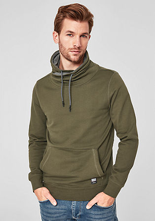 Sweatshirt met turtleneck