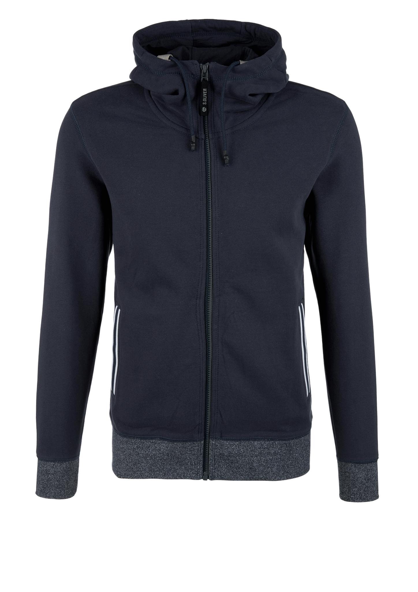 Sweatjacke   Bekleidung > Sweatshirts & -jacken   Blau   Obermaterial 60% baumwolle -  40% polyester  manschette/bund 48% polyester -  47% baumwolle -  5% elasthan   s.Oliver