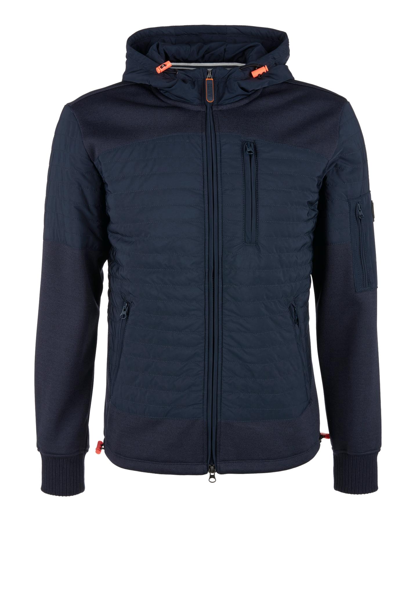 Sweatjacke   Bekleidung > Sweatshirts & -jacken   Blau   Obermaterial a 97% polyester -  3% elasthan  obermaterial b 100% polyester  einsatz 100% polyester  manschette 50% baumwolle -  45% polyester -  5% elasthan   s.Oliver