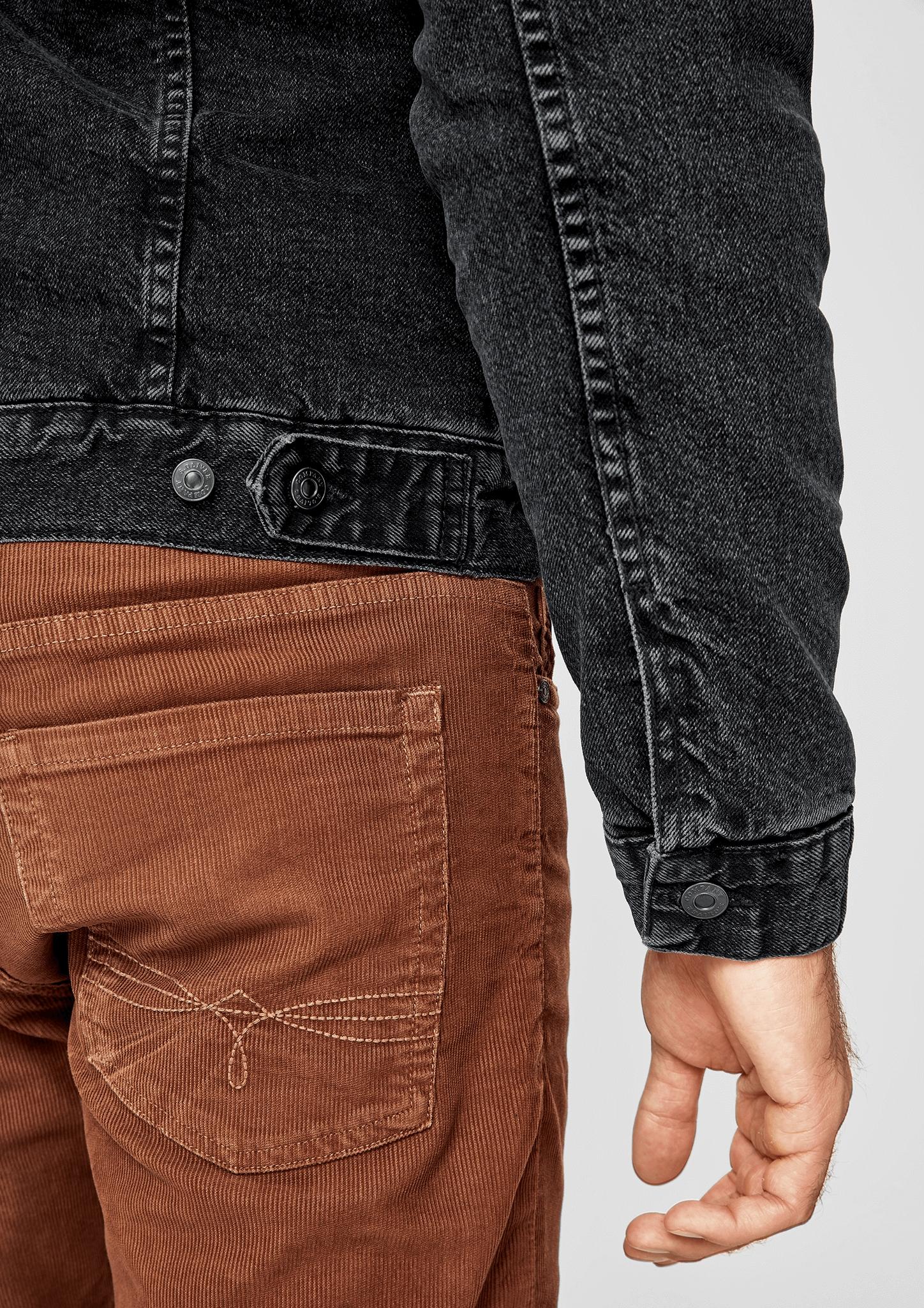 S Mit Futter Teddy Details oliver Jeansjacke Zu Neu Casual Men rCxdBeo