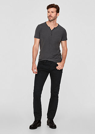 Close slim: zwarte jeans