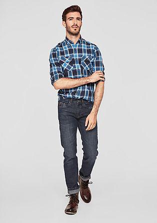Close Slim: sproščene modre jeans hlače