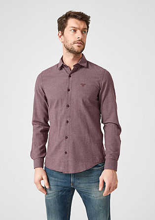 Slim: lightweight twill shirt from s.Oliver
