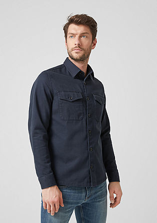 Regular: Shirt with flap pockets from s.Oliver