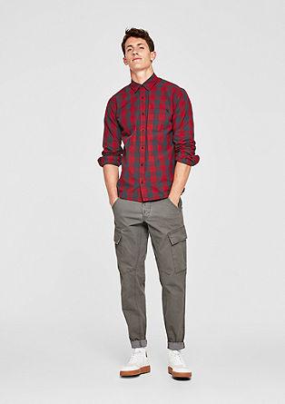 Regular: geruit overhemd