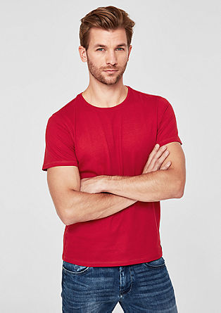 Basic-Shirt mit Crew Neck