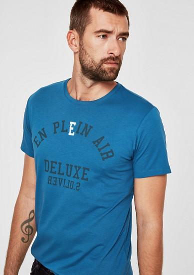 Jerseyshirt mit Wording