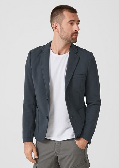 Casual sweatshirt jacket from s.Oliver