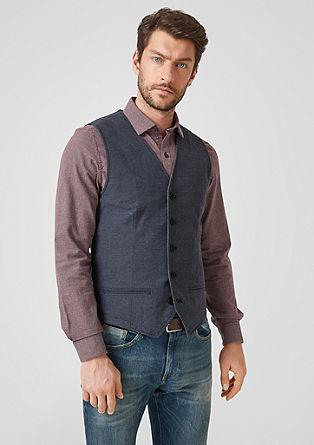 Twill waistcoat from s.Oliver