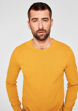 Jumper with a round neckline from s.Oliver