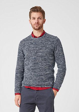 Melange knit jumper from s.Oliver