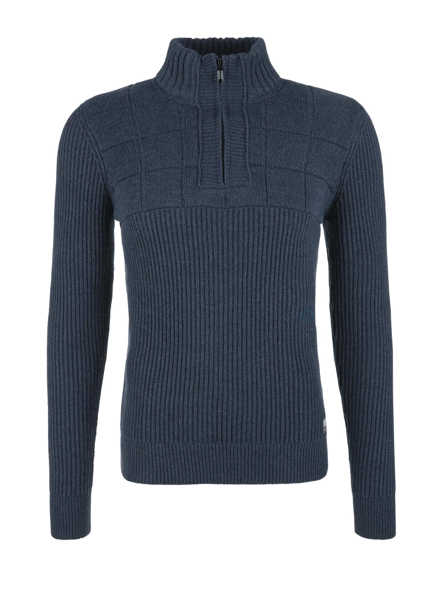 Troyer   Bekleidung > Pullover > Troyer   Blau   55% baumwolle -  35% polyester -  10% polyamid   s.Oliver
