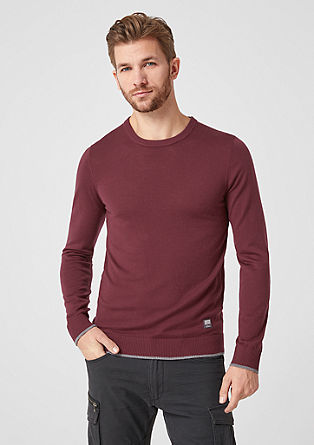 Fine knit jumper from s.Oliver