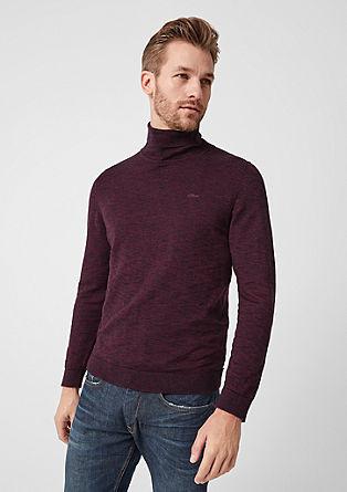 Feiner Pullover mit Turtleneck