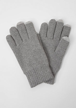 Lined touchscreen gloves from s.Oliver