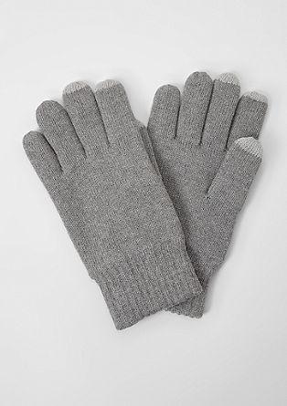 Gevoerde handschoenen met touchscreen-functie