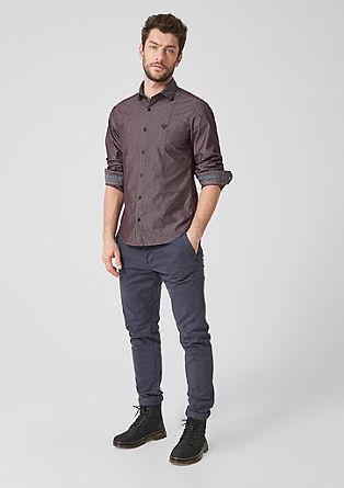 Slim: strukturovaná bavlněná košile