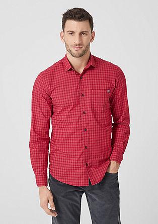 Klasická károvaná košile